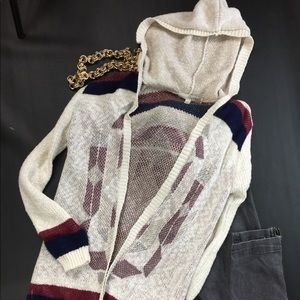 Hooded cardigan 3-$30🌈